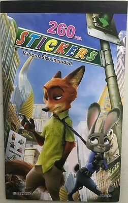 1 x zootopia  Sticker Book  Party Room Sticker Books Gift for Kids