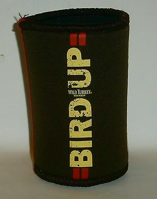 Wild Turkey Bourbon new TALKING stubby can holder cooler for home bar collectot