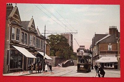 Monmouthshire - Stow Hill Newport PC Pub M. J. R. Tram/Bicycle/Shop/Craves Dairy