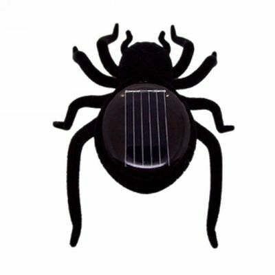 Solar Power Spider Tarantula Trick Toy Educational Robot Scary Insect Gadget