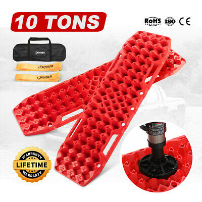Blue 4WD Recovery Tracks 10T Offroad 4x4 Sand Track / Farm Jack Base
