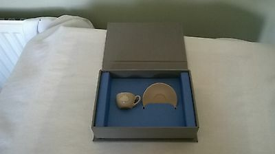 Wedgewood For Mulberry Miniature Cup & Saucer, Commemorative Gift/collectable