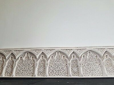 Alhambra Islamic Border Cornice Hand Carved Islamic Moroccan