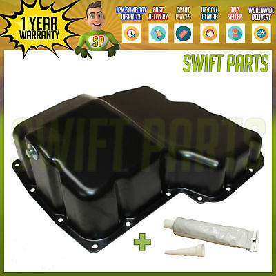 Brand New Steel Oil Sump Pan For Ford Transit Mk6/mk7 2.4  2000 - 2014