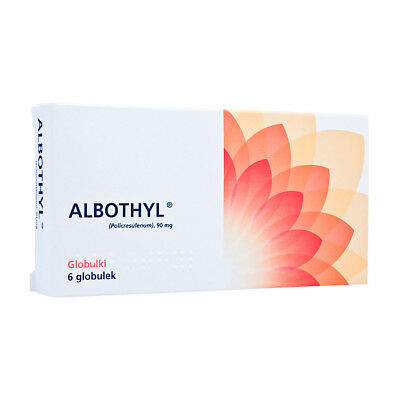 ALBOTHYL Vaginal Tablets Pessaries Thrush Bacterial VaginosisTreatment grzybica