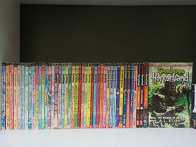 Goosebumps Books by R. L. Stine Lot of 15 Softcovers