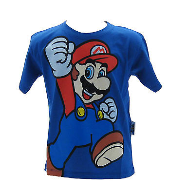T-shirt Super Mario Bros Blu Royal