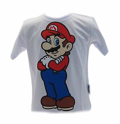 T-shirt Super Mario Bros Bianca