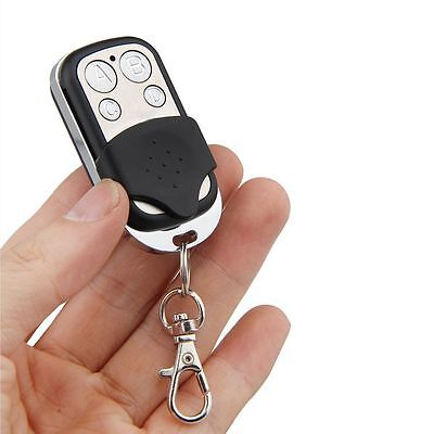 4 Channel 433MHz RF Wireless Remote Control Fixed Code 1527 Key Ring Controller