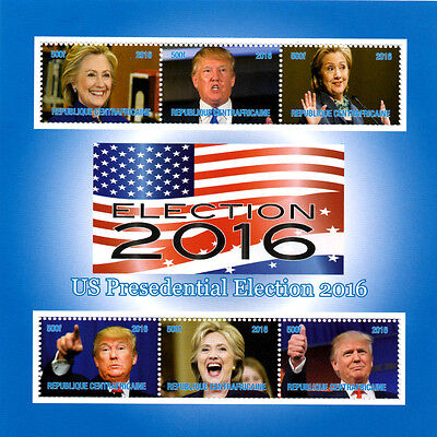 45th USA President Donal Trump MINT MNH stamps OFFER