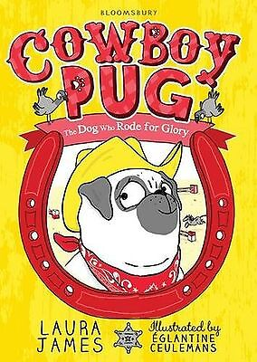 Cowboy Pug The Adventures Of Pug Children's Paperback Book New Free Shipping