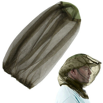 2 X Face Travel Mosquito Camping Midge Net Insect Mesh Protector Hat Head Bug