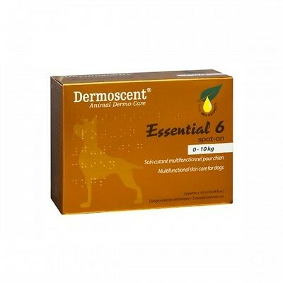 Dermoscent Essential 6 Spot-On -Skin Care for Small Dogs (0-10kg)