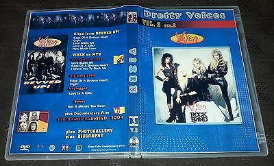 Vixen - Pretty Voices 3 DVD SPECIAL FAN EDITION - Very Good!