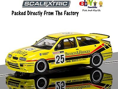 NEW IN Scalextric Slot Car Ford Sierra RS500, Bathurst 1988 C3868