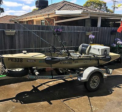 PA14 HOBIE KAYAK with Trailer and accessories