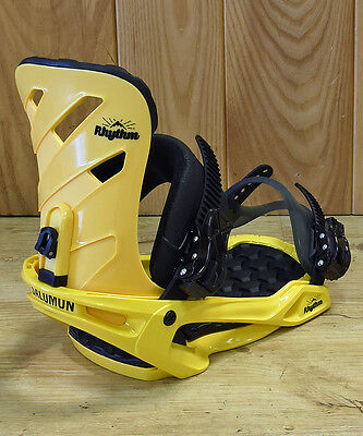 Salomon Rhythm 2017 Snowboard Bindings. Yellow BNIB