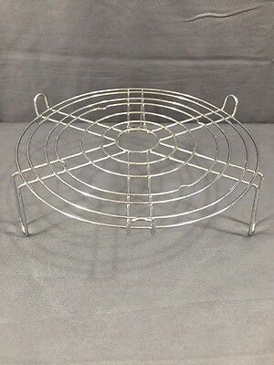 """Nuwave Infrared Oven COOKING WIRE RACK Reversible 4"""" / 1""""  Replacement Part"""