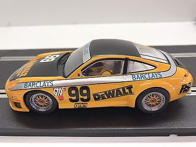 SCALEXTRIC Analogue Porsche 911 GT3R Dewalt 1/32 Scale.