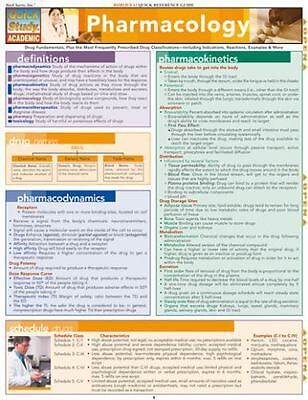 Pharmacology Quick Reference Guide (quick Study Academic): By Becky Rodda, Su...