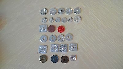 U.s State Sales Tax Etc Tokens   Vintage And Mint!