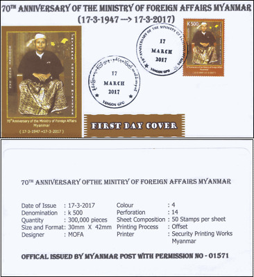 70th Anniversary of the Minitry of Foreign Affairs -FDC(I)-I-