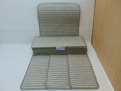 Carpet Stair pads / treads 60 cm x 23 cm 15 off and 1 m x 50 cm 1 Big Mats 2209#