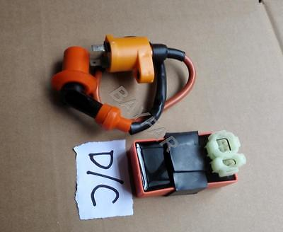 Performance Ignition Coil & D/C CDI Scooter ATV GY6 50 125 150 139QMB 157QMJ