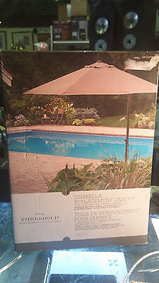 Threshold 11' OFFSET UMBRELLA REPLACEMENT CANOPY **New In Box**