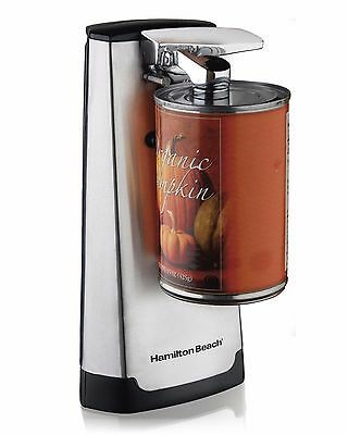 Hamilton Beach 76700 Electric Extra Tall Can Opener Knife Sharpener Stainless