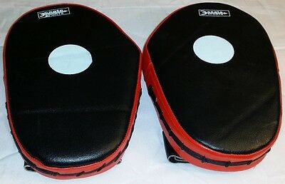 2pc Focus Speed Mitts Boxing Gloves Training Pad Spar Kickboxing Train Fight