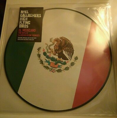 "Vinyl 12"" Single: Noel Gallagher's High Flying Birds : El Mexicano Picture RSD"