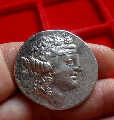 Superb Greek silver coin, Tetradrachm,