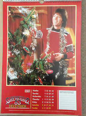 "Cliff Richard EMI 1983 poster calendar 10""x16"" published by Danilo"
