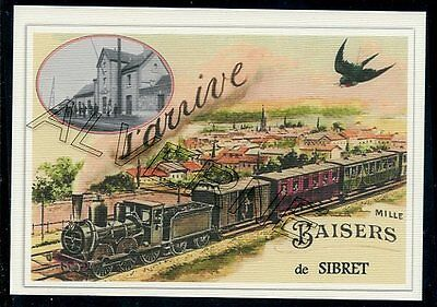 SIBRET - ...... train  ...   souvenir creation moderne serie numerotee