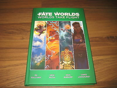 Fate Worlds Worlds Take Flight Hardcover Evil Hat Productions 2016 New Neu