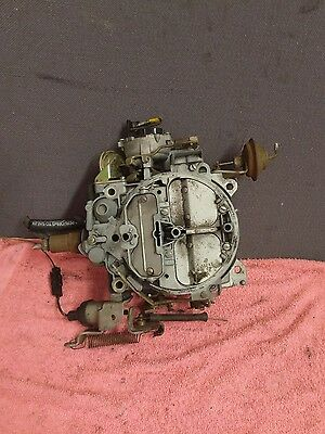 Buick V6 Turbo Supercharged Carburetor 4 Barrel 17059543