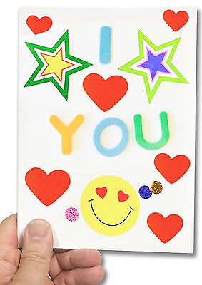 DIY Recordable Voice Blank Greeting Card -Pully to Play  - 20 seconds audio