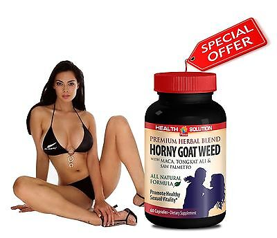 Tongkat Ali - PURE HORNY GOAT WEED SEXUAL PILLS - Women's Sexual Satisfaction 1B