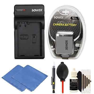 LP-E8 Battery + Battery Charger for Canon EOS 550D,700D, T5i T2i DSLR Cameras