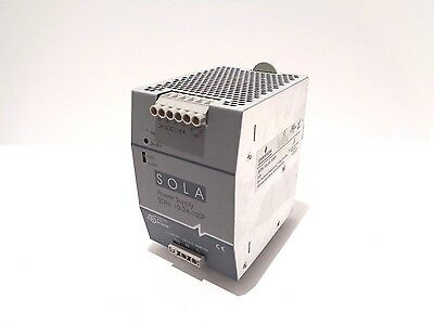 SOLA SDN 10-24-100P Power Supply 115/230 VAC, 5.0/2.0 A, 50/60 Hz