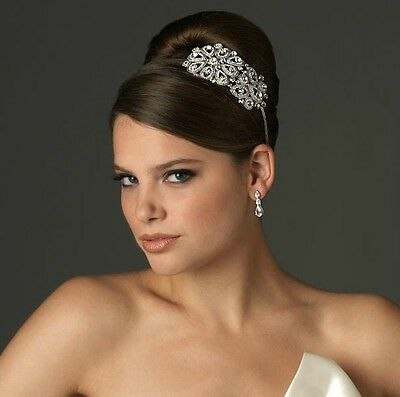 New Bridal Prom Crystal Tiara Headband, Crown,Hair Accessories, Weddings,Parties