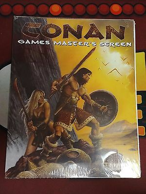 Conan RPG 1st Ed Game Master's Screen Sealed! Mongoose MGP7707 2003
