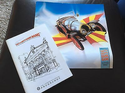 Chitty Chitty Bang Bang Theatre Programmes Souvenir Collectable London Palladium