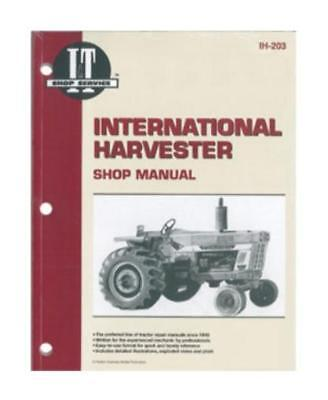 SMIH203 New Shop Manual for Case-IH Tractor Models 454 464 484 574 674 1026