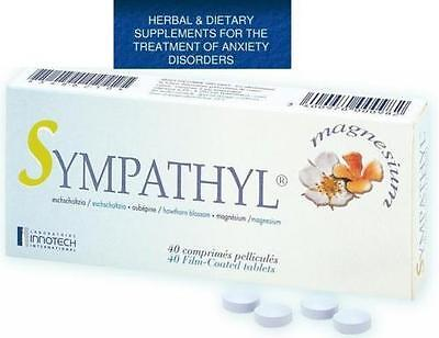 Sympathyl 40 HERBAL Insomnia in adults with California poppy,hawthorn, magnesium