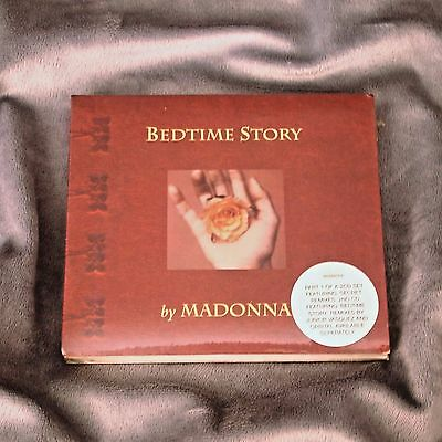 Madonna Bedtime Story Limited Edition Uk Cd 1995 W0285Cdx Sealed
