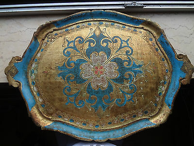 Tablett tee coffee tray tea traditional indian arabic design tablet painting