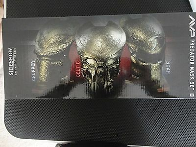 Sideshow Collectibles Predator Mask Set AVP Alien Limited SDCC