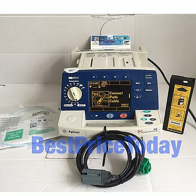 Philips Heartstream XL Smart AGILENT Defib Paddle Lead Pacer Soft Pads M4735A